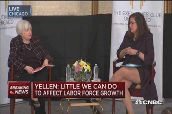 Yellen: The global has been a very important factor in the outlook for the U.S. economy