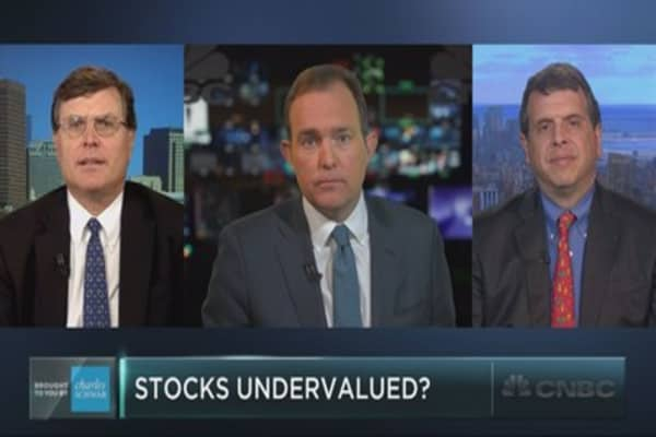 Could stocks actually be undervalued?