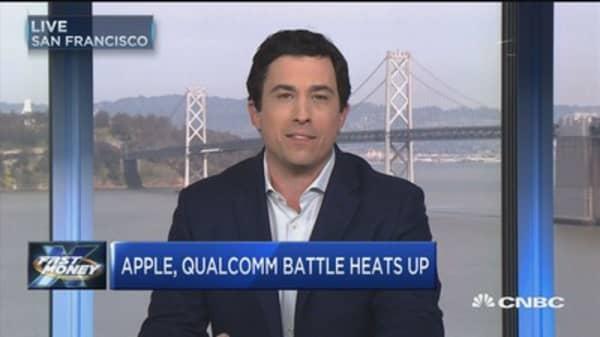 Apple, Qualcomm battle heats up