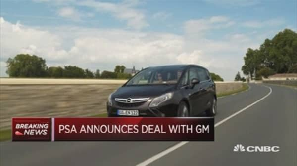 PSA Group confirms approach to buy Opel