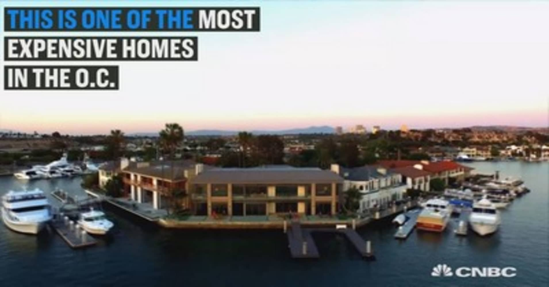 check out one of the most expensive homes in the o.c