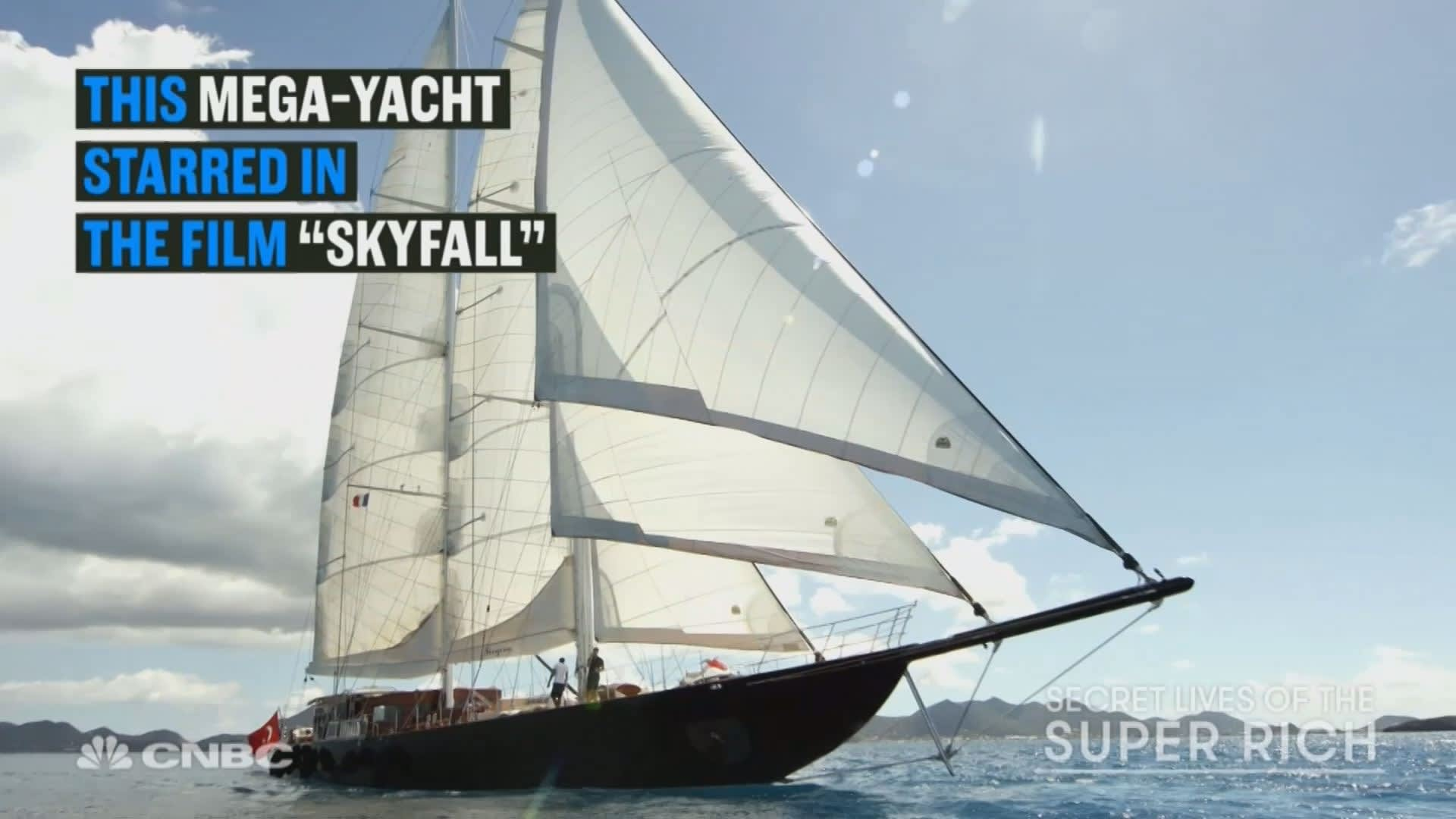 Watch The James Bond Skyfall Yacht Can Now Be Yours For A Bargain video