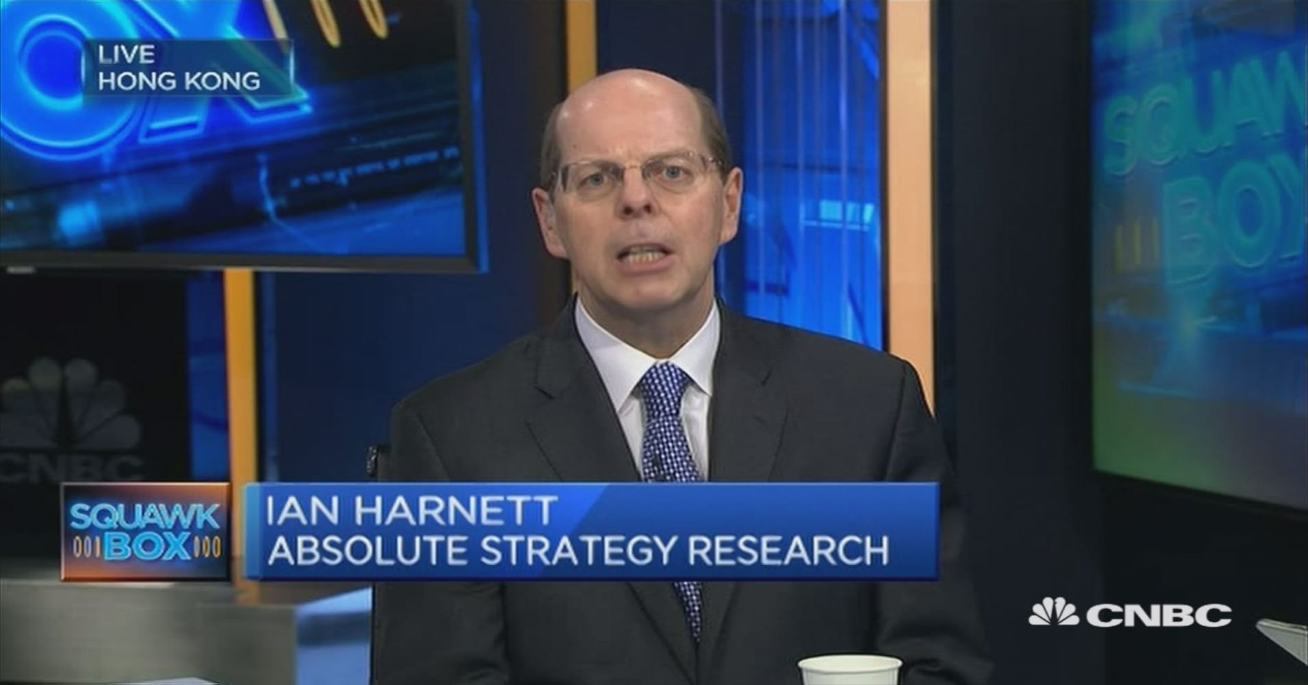Αποτέλεσμα εικόνας για Ian Harnett της Absolute Strategy Research