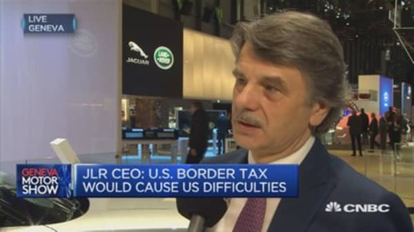 'Cautiously optimistic' on US, China: JLR CEO