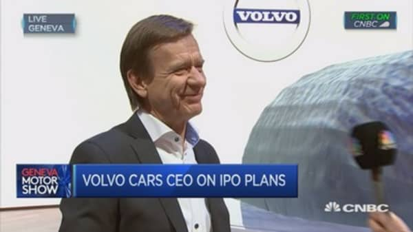 Geely will decide on an IPO: Volvo Cars CEO