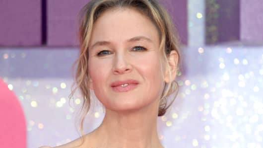 Renee Zellweger arrives for the World premiere of 'Bridget Jones's Baby'