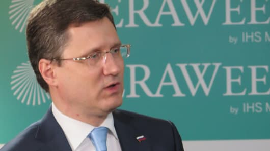 Alexander Novak, Russian Energy Minister.