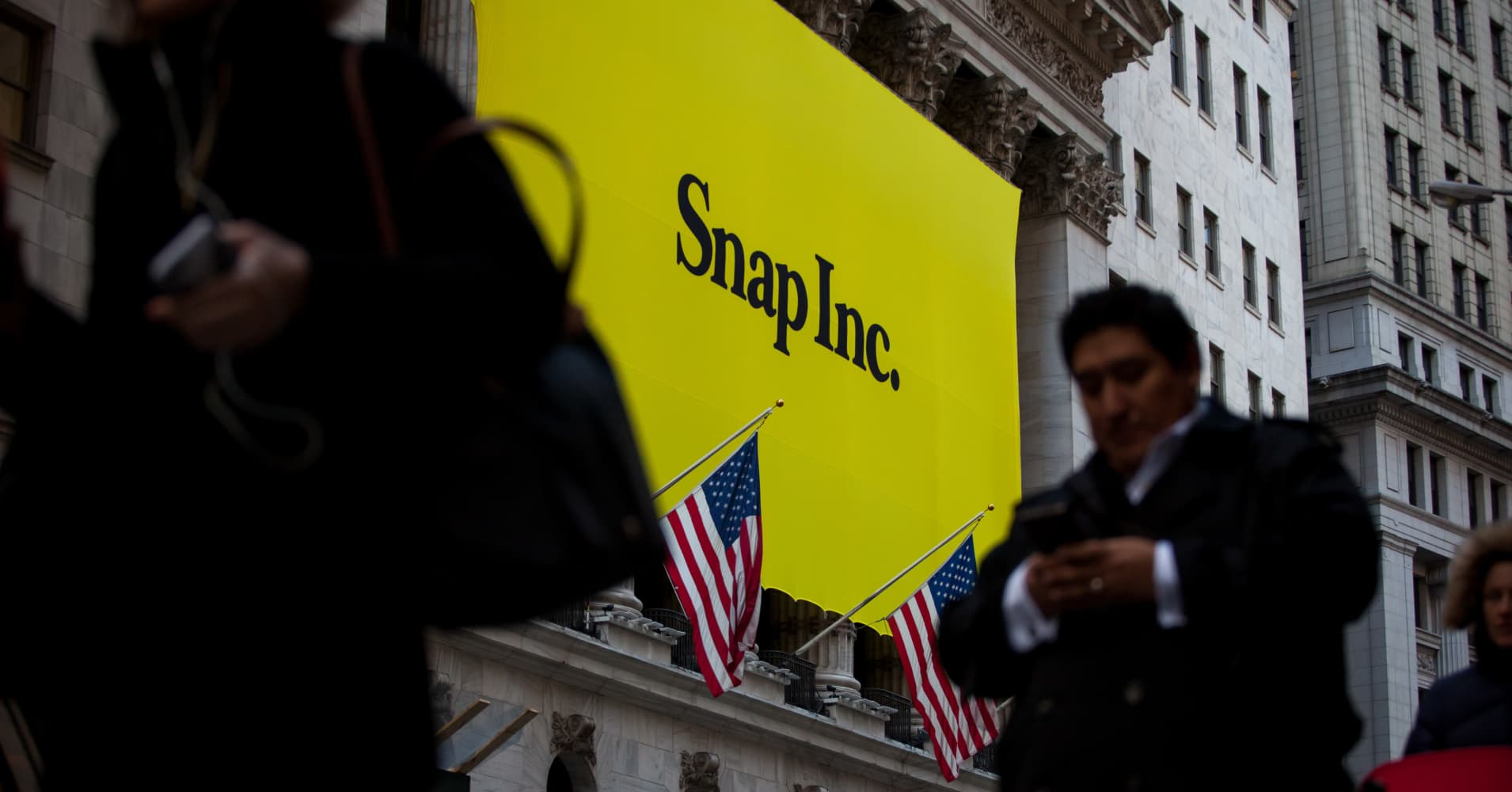 Snap shares rise after analyst upgrade, saying recent executive hires will improve results