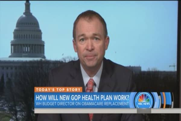 It's unfair to compare new GOP plan with Obamacare's promise: OMB director