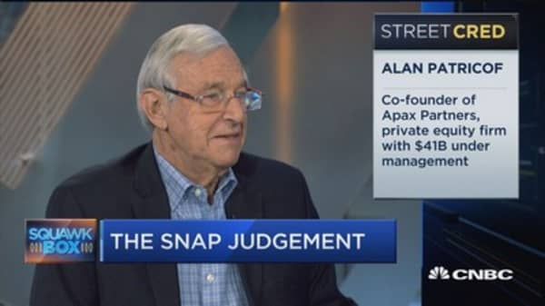 Clearly investors betting on Snap's future: Alan Patriocof