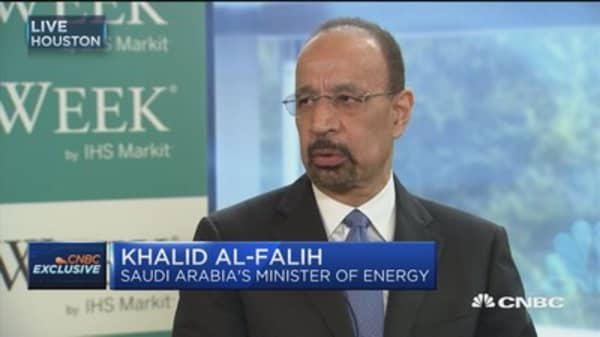 Saudi energy minister: Aramco will surprise analysts to the upside on every metric