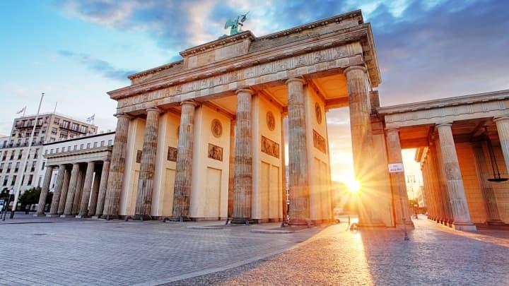 Berlin, Brandenburg gate, Germany.