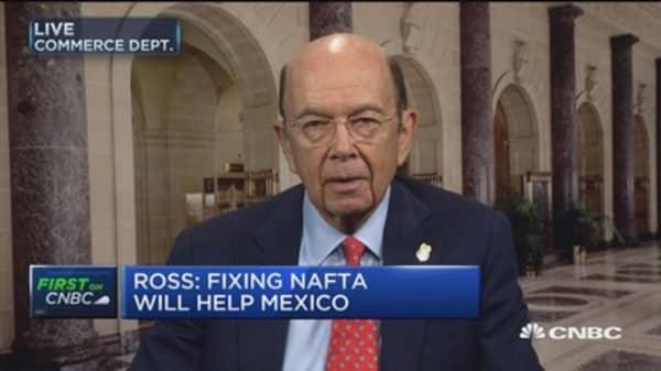 Sec. Ross: Fixing NAFTA will help Mexico