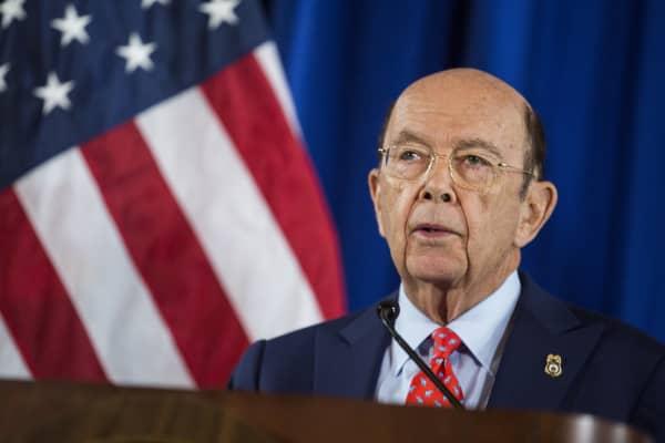 Wilbur Ross, U.S. Secretary of Commerce