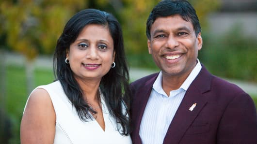 Anu and Naveen Jain: technophilanthropists tackling a global crisis.