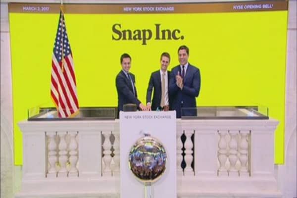 Some investors are wary about Snap's non-voting shares