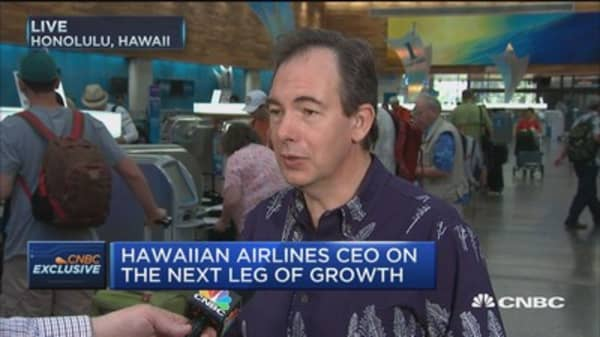 Hawaiian Airlines CEO: We're the world's most punctual airline