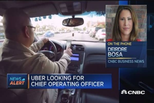 Uber looking for chief operating officer