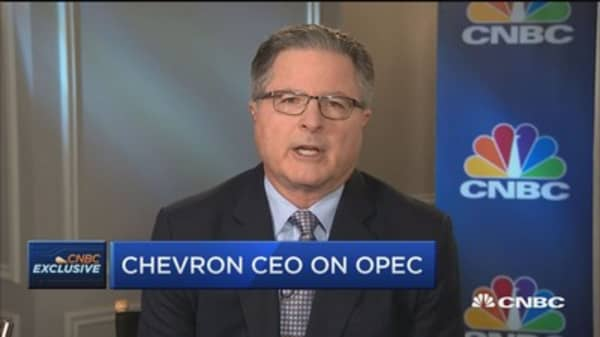Chevron CEO: $30B investment in US over next four years