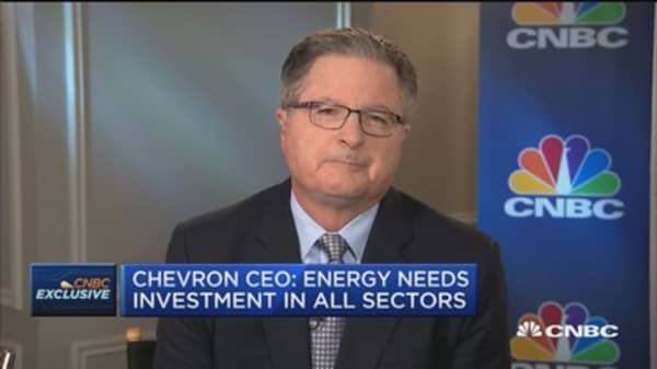 Chevron CEO: Paid visits with White House staff