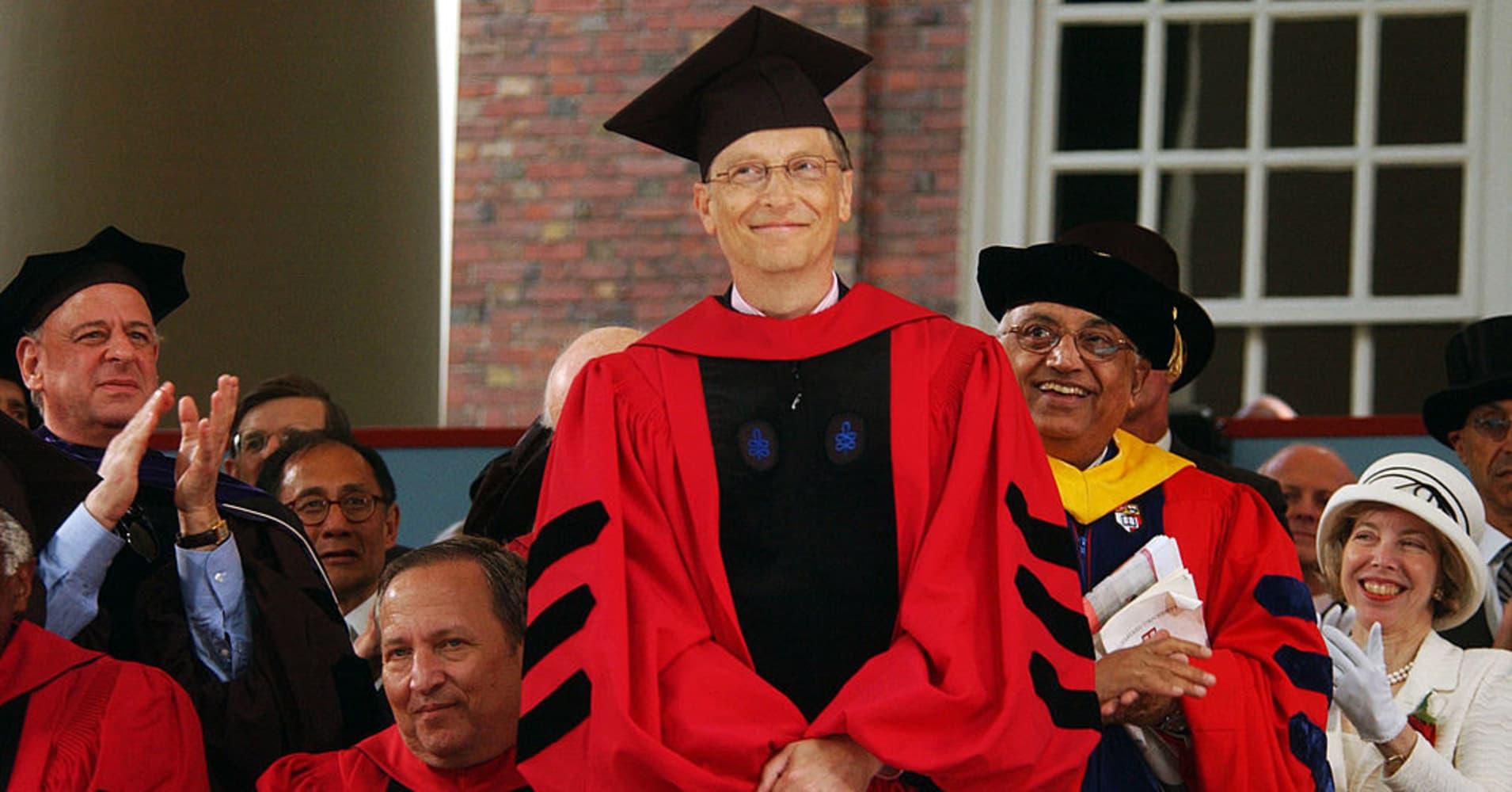 Zuckerberg should study the wisdom in Bill Gates' Harvard address