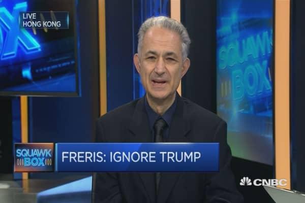 When it comes to markets, ignore Trump: Andrew Freris