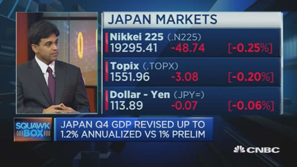 Finally, more capex in Japan?