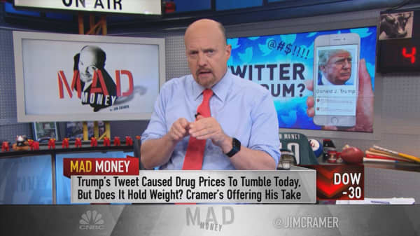Trump's Twitter tantrums a pharma buying opportunity