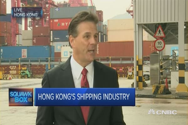 Are the Hong Kong shipping sector's best days behind it?
