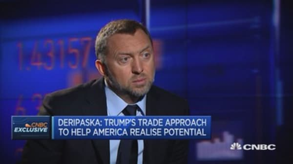 Must give Trump a year to assess performance: Rusal President