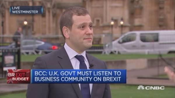 UK govt must listen to business society on Brexit: BCC