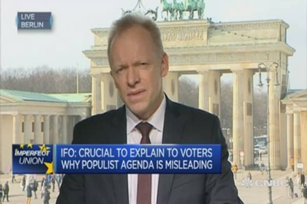 Populist economic policy focusses on the short term: ifo President