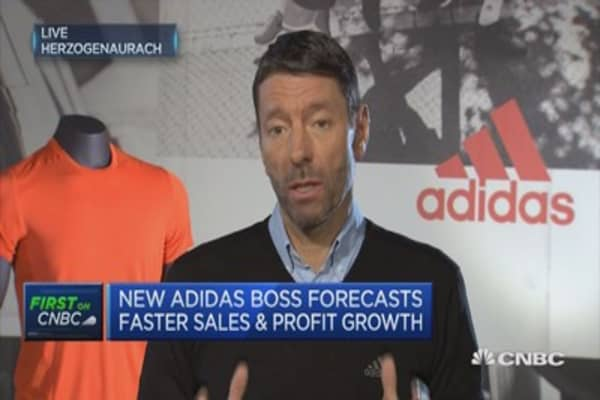 We can drive top line 10-12 percent: Adidas CEO