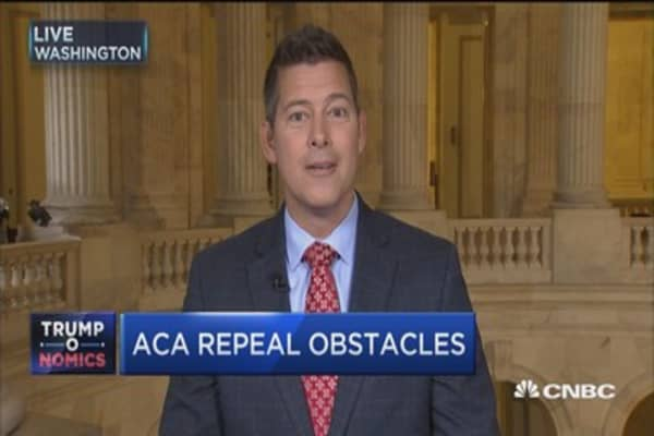 Rep. Duffy: Expect 'chatter' on both sides of the aisle on GOP's health care plan