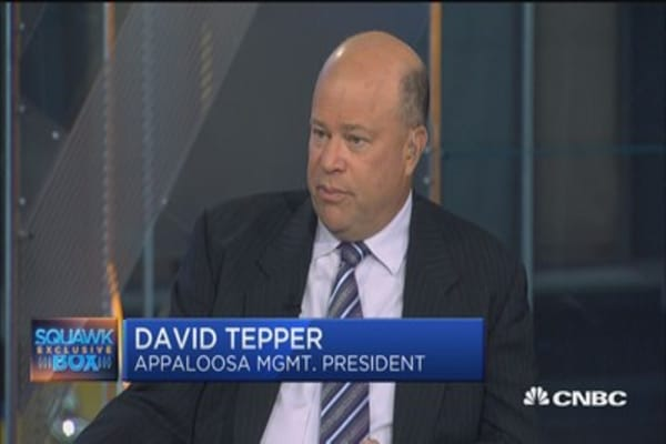 David Tepper short bonds? You bet your...