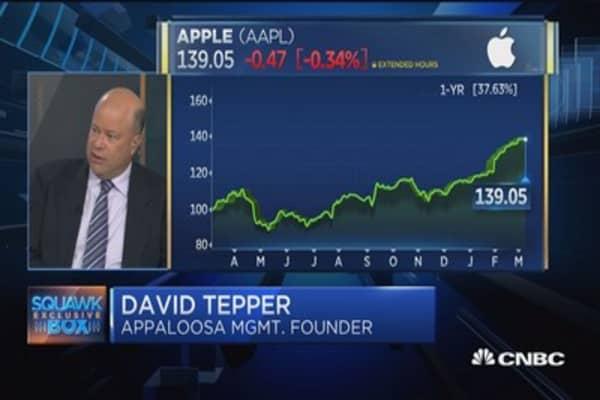 David Tepper: Trimmed Apple on China rhetoric