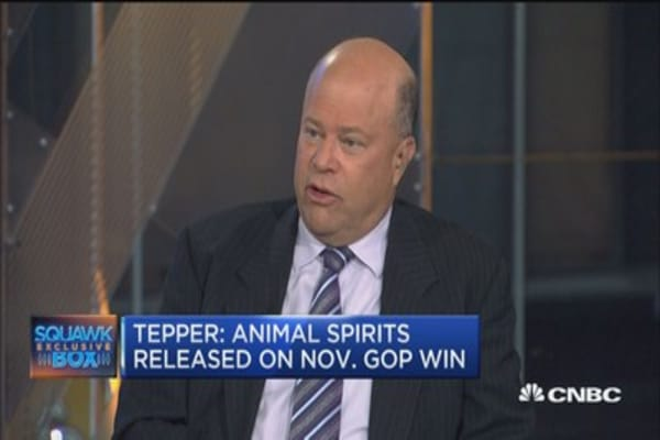 Can't 'bet the ranch' before French election: David Tepper