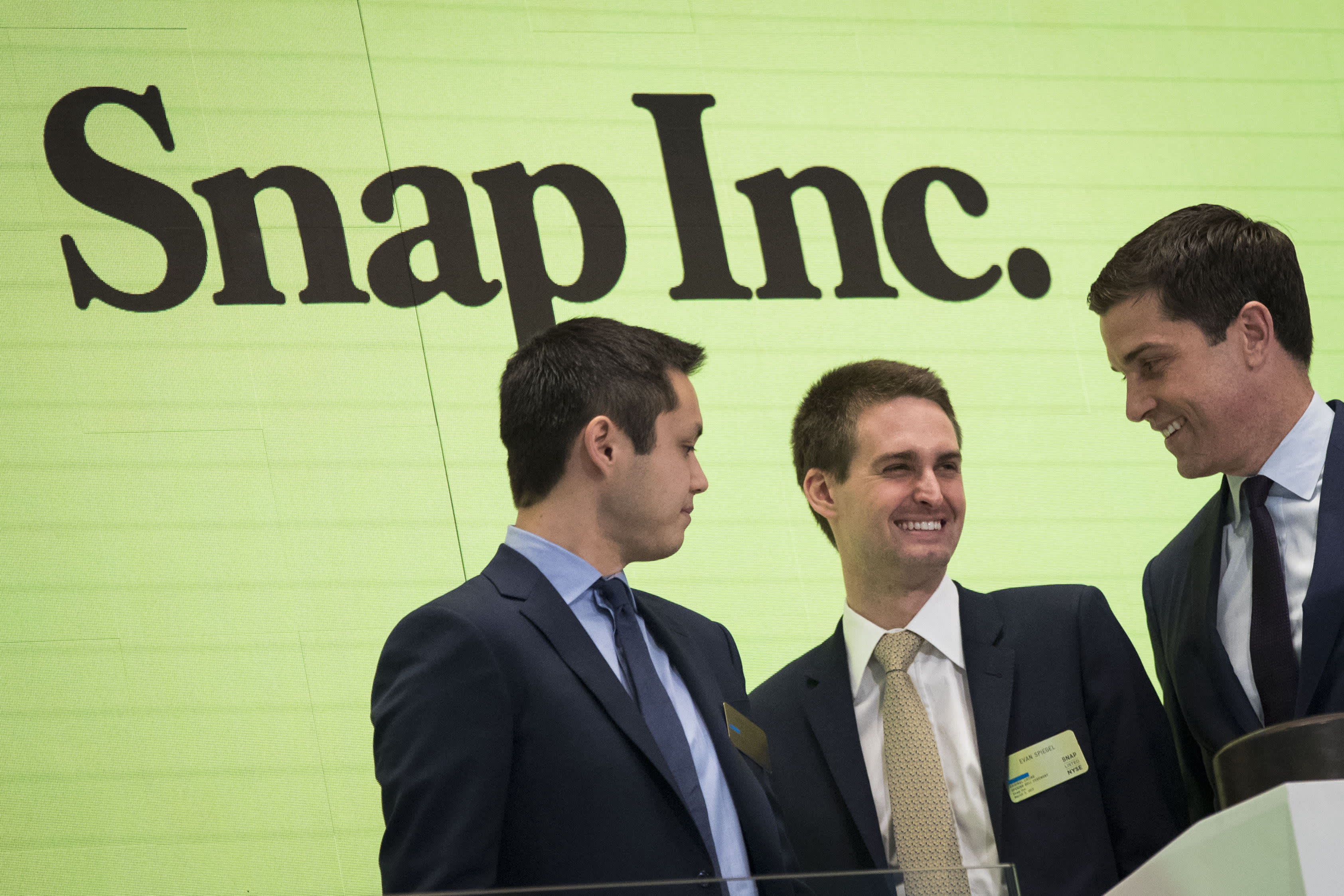 Snap Shares Dip Even After Ceo Spiegel Targets Profitability In 2019