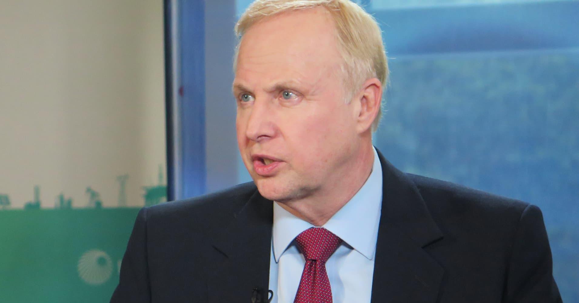 BP CEO Bob Dudley says oil prices will range between $50-$65 'fairway'
