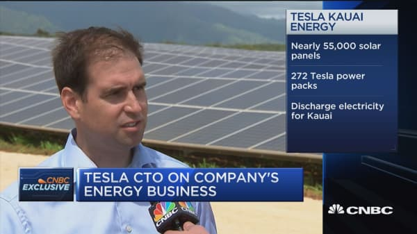 Tesla CTO: Not just a 'feel good sustanility project,' this means saving money