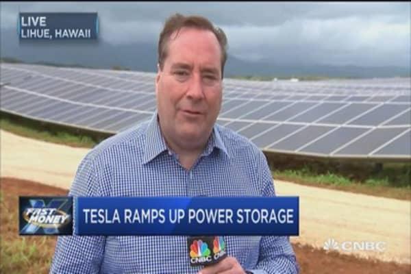 Tesla's power play