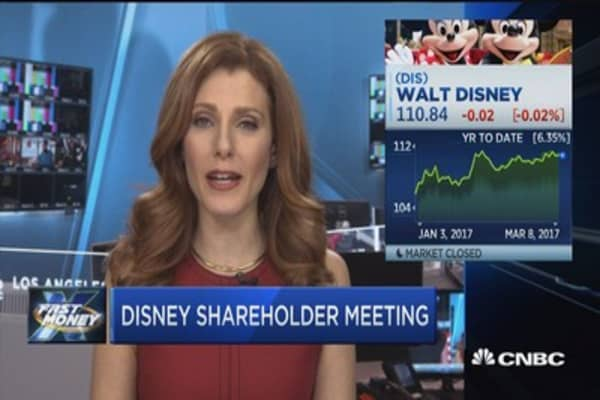 Iger: Leading Disney is a thrill and privilege