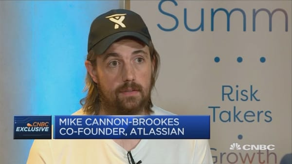 Atlassian's Cannon-Brookes on Trump, Silicon Valley and diversity