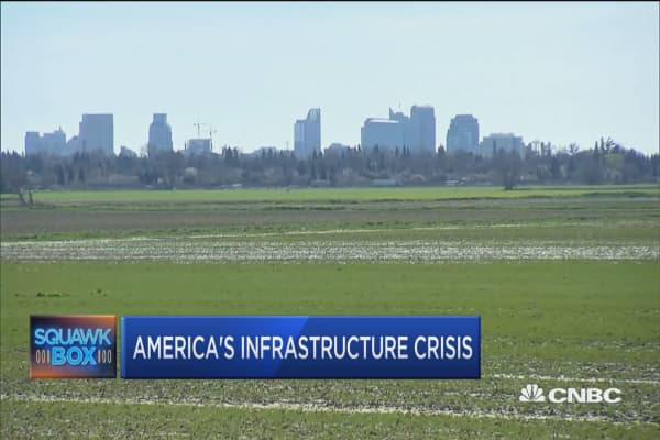 US cities pose crumbling infrastructure risks