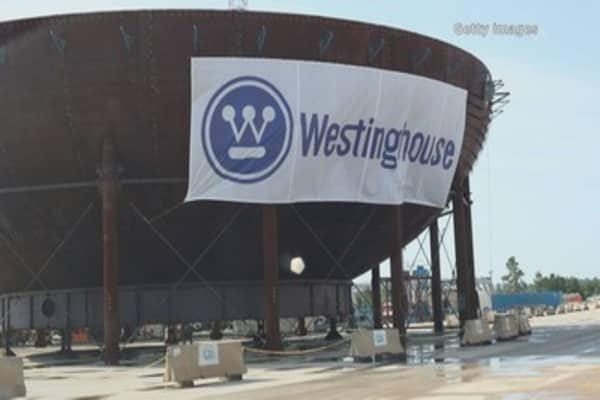 Things are not looking good for Westinghouse