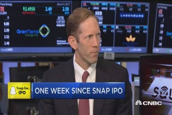 Blodget: Snap is a communications network more than a media company