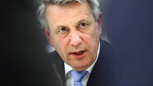 Ben van Beurden, chief executive officer of Royal Dutch Shell Plc.