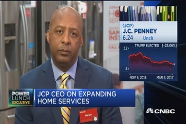 JCPenney CEO: We're trying to de-emphasize our dependence on apparel