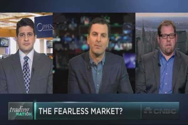 The fearless market?