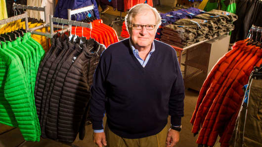 Tim Boyle, CEO de Columbia Sportswear